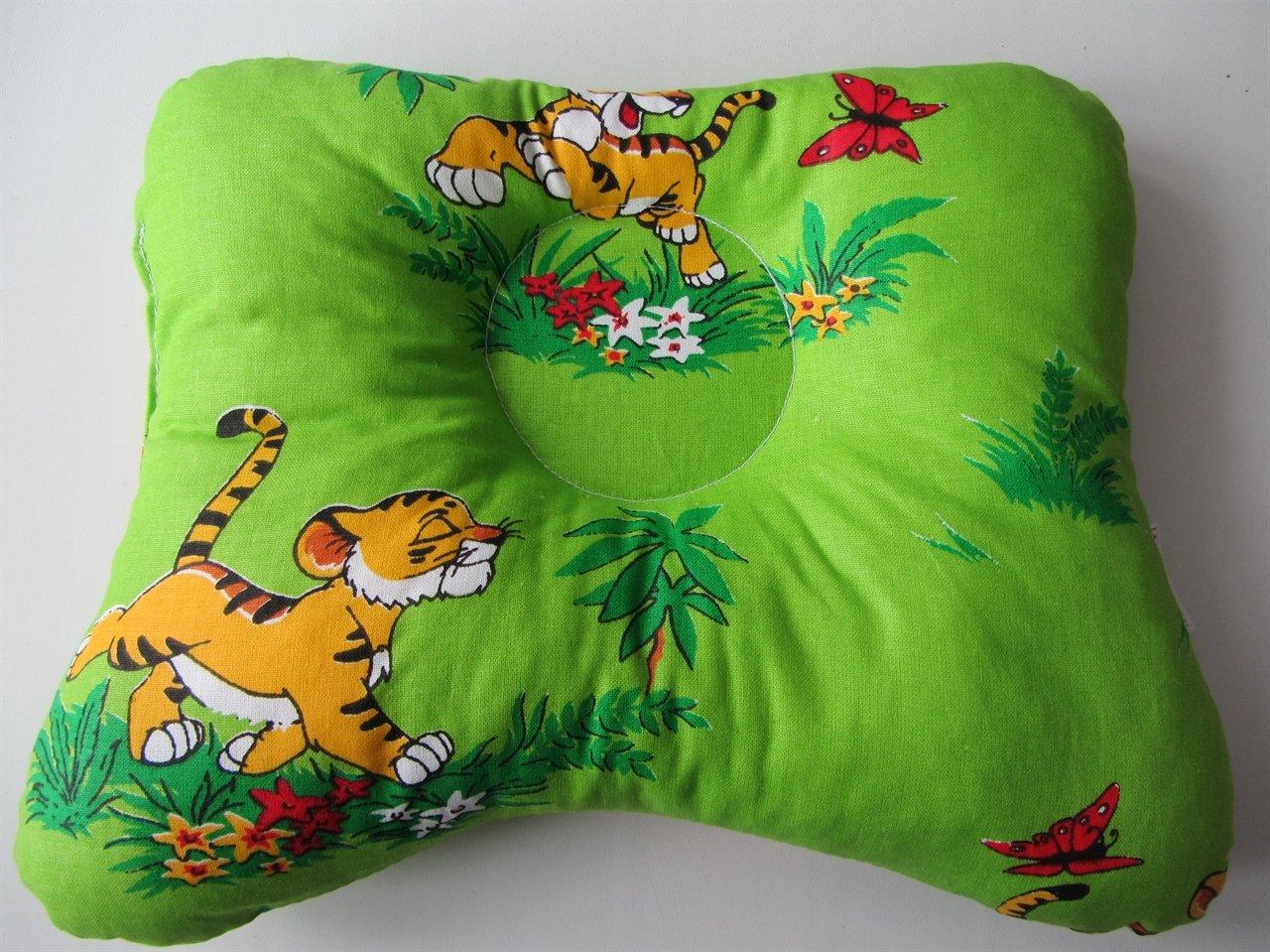 Зеленая ортопедическая подушка