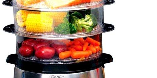 Рекомендуется принимать отварную или приготовленную на пару пищу