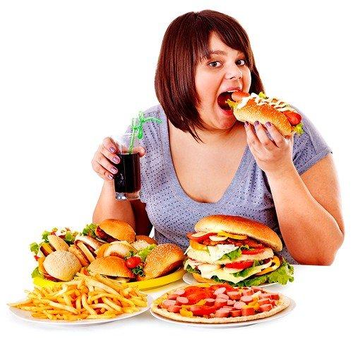 Неправильное питание может быть причиной патологии