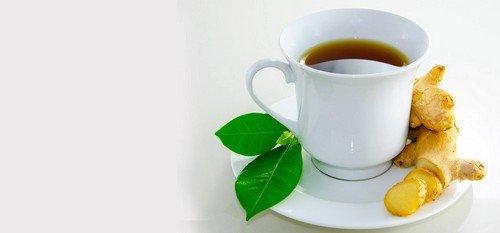 Самое широкое применение находит чай с имбирем