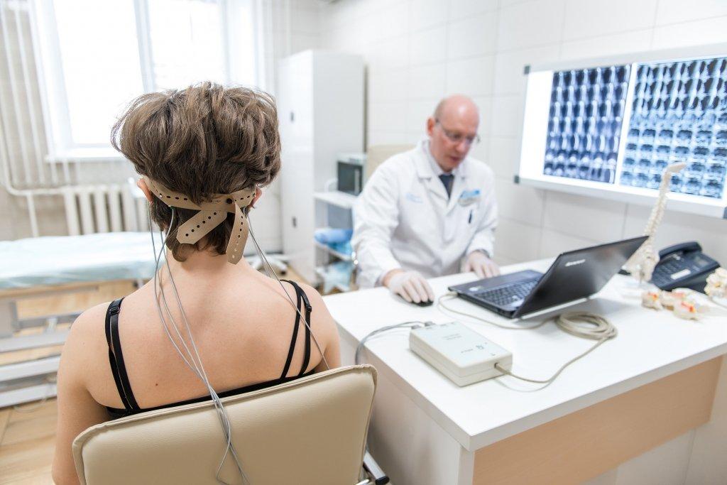 РЭГ сосудов головного мозга фото