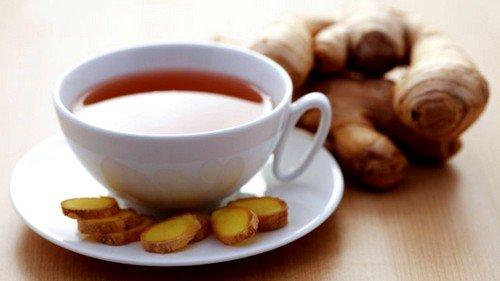 Чай с имбирем — польза и вред фото