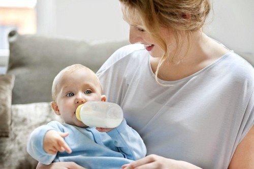 Угол наклона головы ребенка во время приёма пищи, не должен быть менее 20-30º