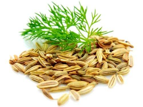Хорошим эффектом обладает отвар на основе семян укропа