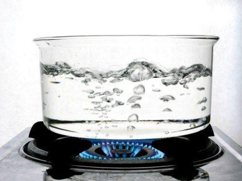 Для мытья головы лучше использовать кипяченую воду, доведенную до приемлемой температуры