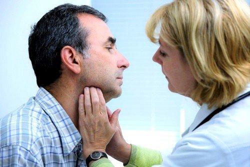Щитовидная железа: симптомы заболевания у мужчин фото