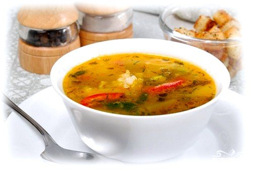 Суп из телятины «Нежный»