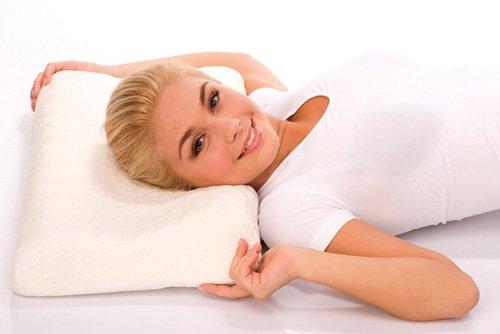 Ортопедическая подушка при шейном остеохондрозе:  отзывы фото