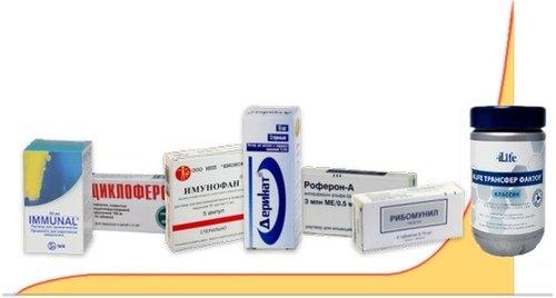 Во время лечения Макмирором рекомендуется прием средств для восстановления иммунитета