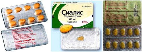 Действие препарата направлено на нормализацию эрекции у мужчин