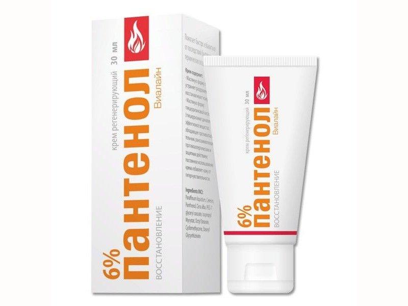 Пантенол можно использовать во время появления высыпаний и для лечения рубцов на коже