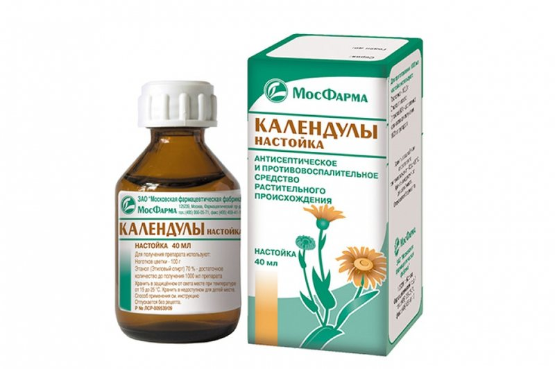 Можно протирать ранки настойкой календулы и отваром из лекарственных растений
