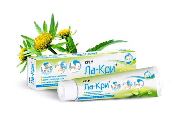Крем Ла-кри изготовлен на основе лекарственных растений и пантенола