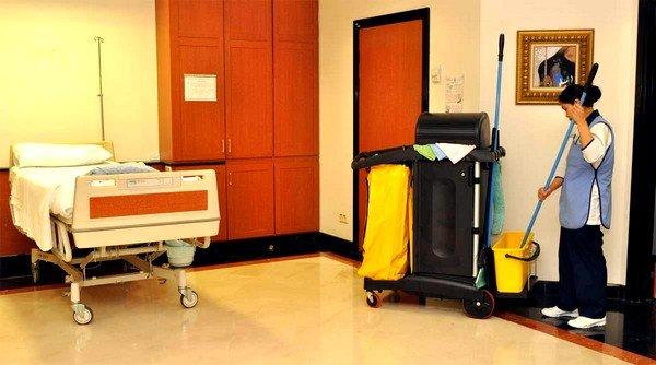 Во время санитарно-гигиенической обработки проводят целый комплекс мероприятий