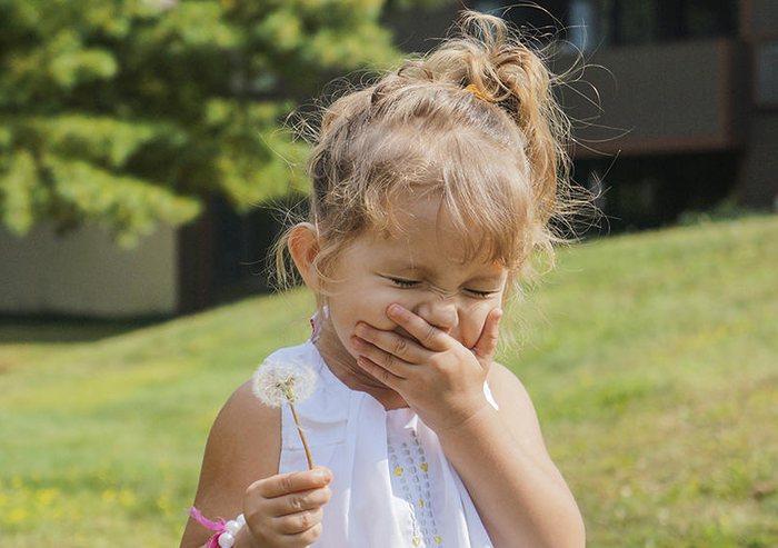 Сезонная аллергия у детей фото