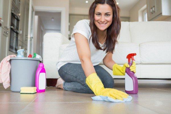 Очень важно проводить влажную уборку каждый день