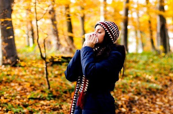 На что возникает аллергия осенью? фото