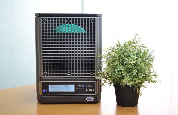 При аллергии дома можно поставить воздухоочиститель