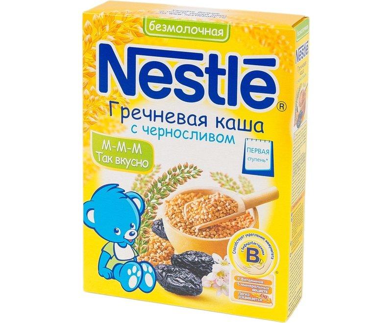 Каши Nestle предназначены специально для маленьких детей, выпускаются разные виды продукции (с молоком или безмолочные, с фруктами, пробиотиками или витаминами) - но все же следует внимательно изучить состав.