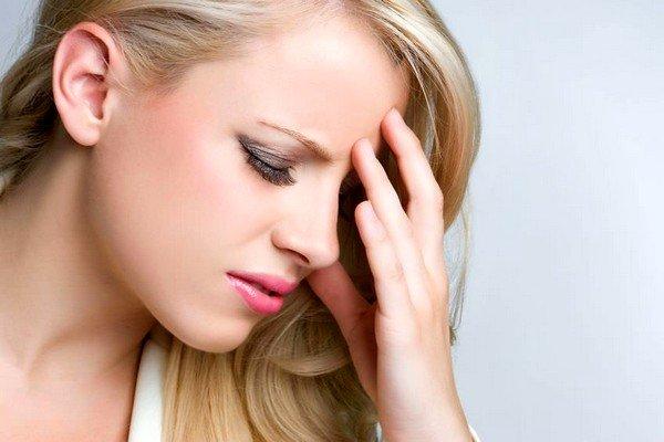 При аллергии могут возникнуть головные боли