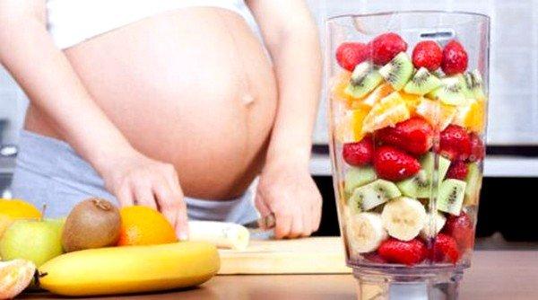 При беременности важно принимать в пищу только гипоаллергенные продукты