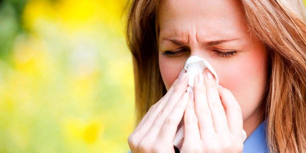 Аллергия может проявиться при ослабленном иммунитете