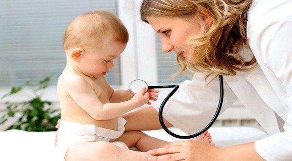 Рекомендуется посетить вместе с малышом врача-аллерголога