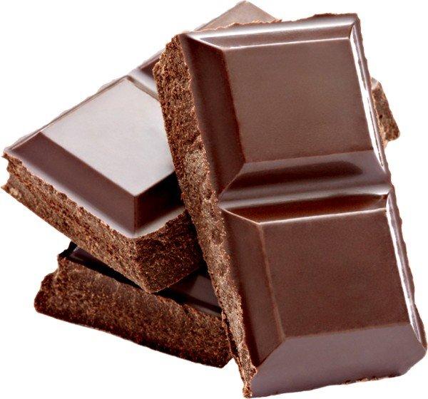 Шоколад нужно полностью исключить из рациона