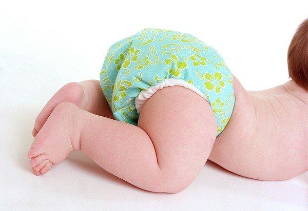 Появление у ребенка аллергии на памперсы фото