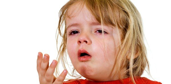 У детей может нарушиться работа дыхательной системы