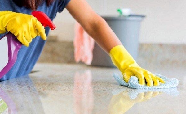 Важно часто проводить влажную уборку