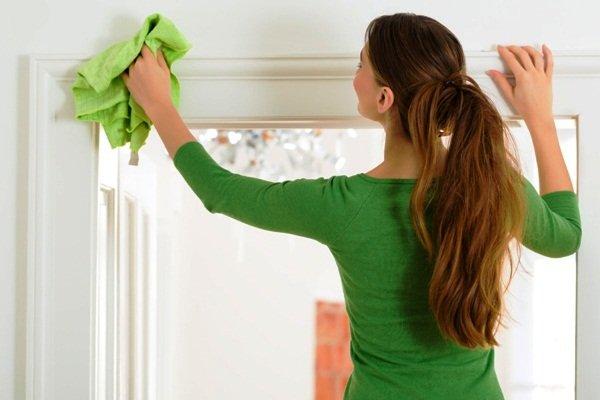 Каждый день нужно проводить влажную чистку дома