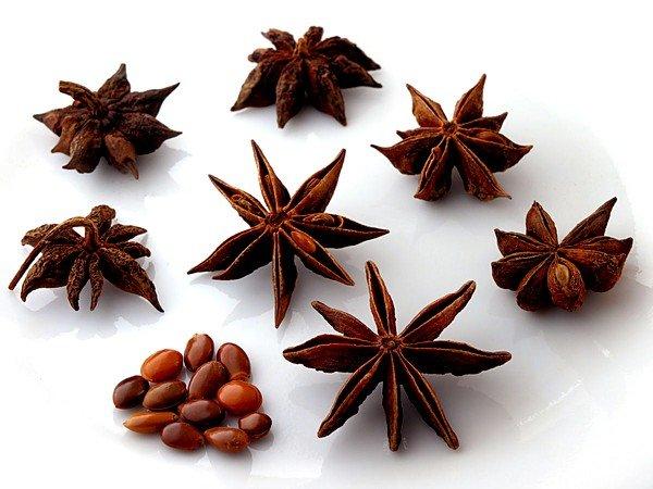 В состав сиропа также ввели масло аниса звездчатого