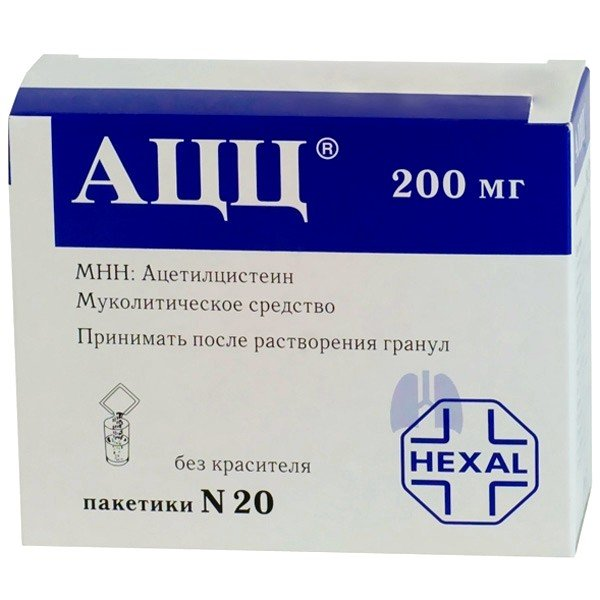При пневмонии рекомендуется использование муколитических препаратов