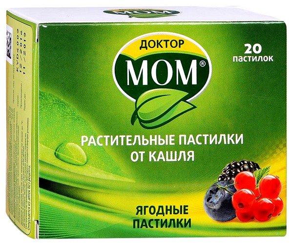 Доктор Мом – это комбинированный противокашлевый препарат, выполненный на основе экстракта лекарственных растений