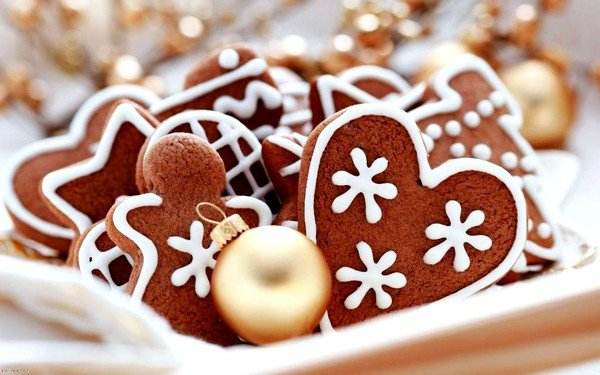 Можно приготовить имбирное печенье