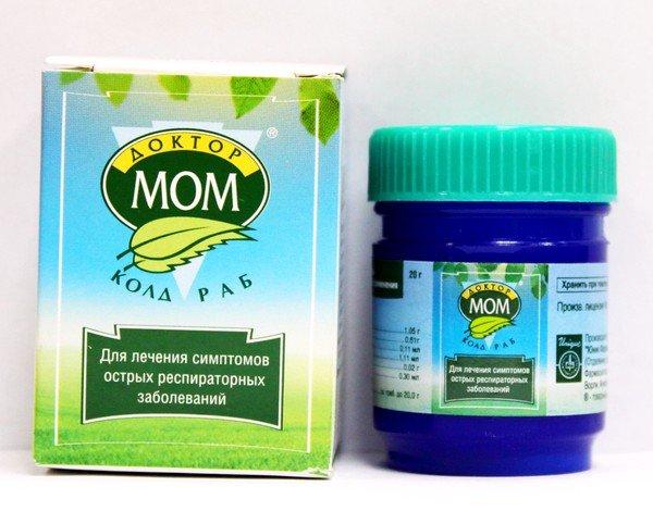 Эффективным средством при лечении влажного кашля у детей, станет согревающая мазь Доктор Мом