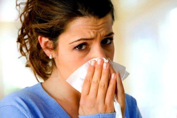 Применение АЦЦ может вызвать насморк