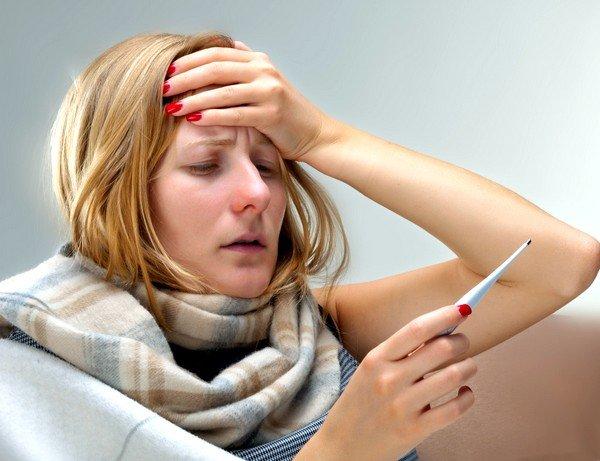 Симптомы простуды начинают проявляться через 1–3 дня после заражения