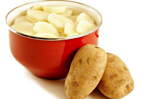 Картофель ни в коем случае не должен быть чрезмерно горячим