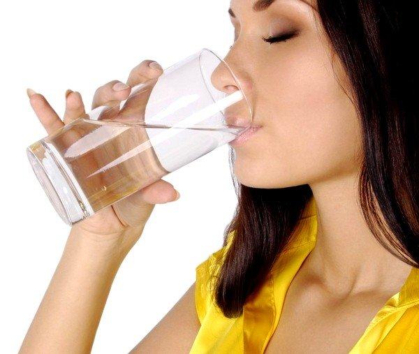 Во время лечения употребляйте большое количество воды