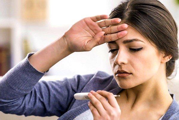 Причины возникновения кашля и температуры 37˚С у взрослого фото