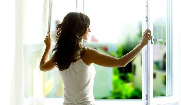 Важно регулярно проветривать комнату