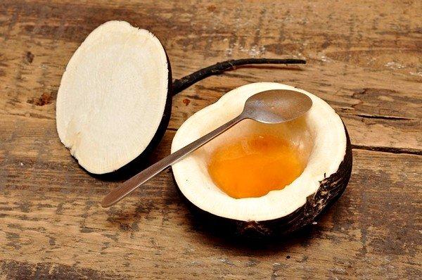 Редька с медом применяется при влажном кашле