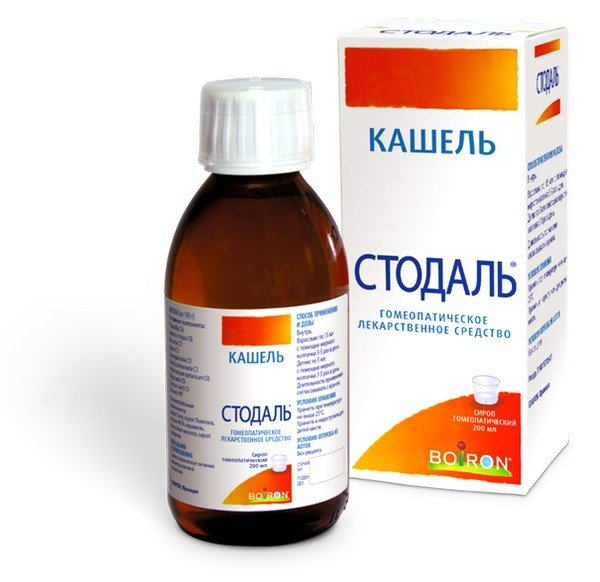 Одним из наиболее распространенных препаратов является гомеопатическое средство от кашля для детей Стодаль