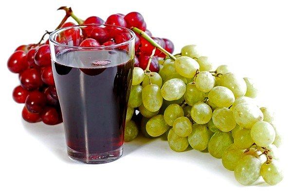 Виноградный сок с мёдом помогает при кашле