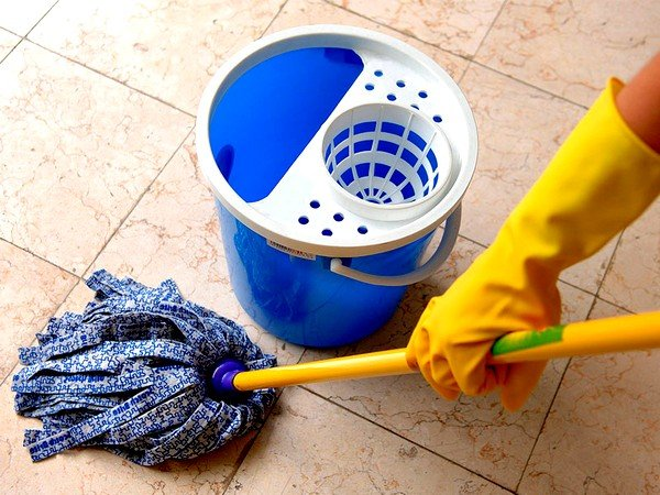 Важно совершать ежедневные влажные уборки в квартире