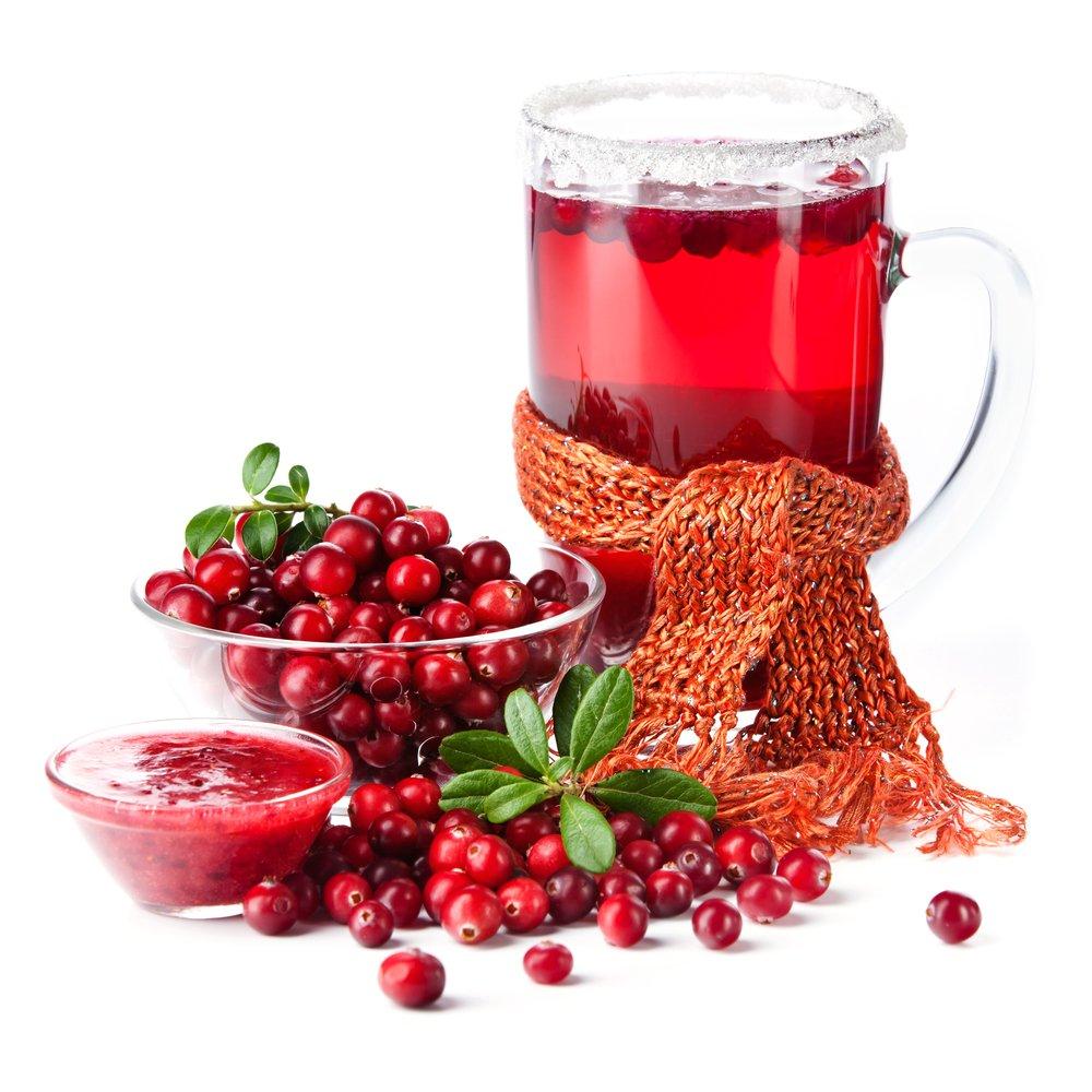Антиоксидантным эффектом обладают чаи с клюквой