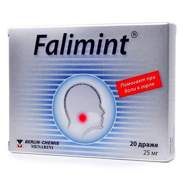 Фалиминт при лечении кашля