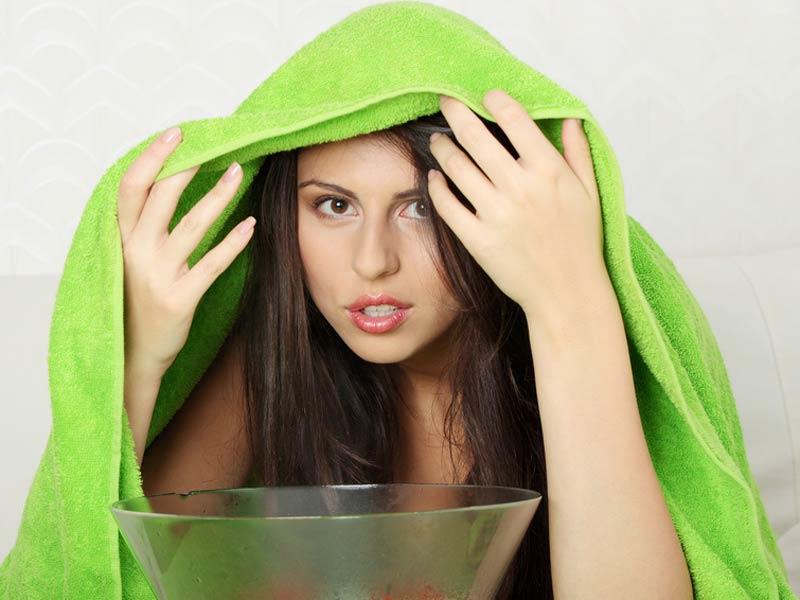 Паровые ингаляции эффективны при лечении кашля
